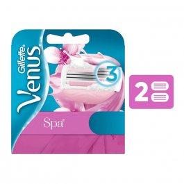 Carga para Aparelho de Depilar Gillette Venus SPA com 2 unidades