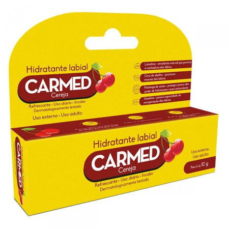 CARMED LABIAL SABOR CEREJA 10G