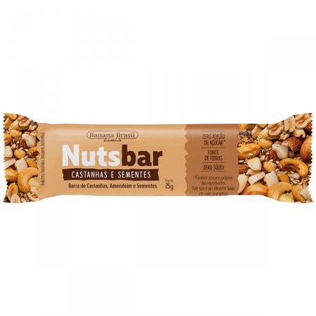 Barra de Castanhas e Sementes Nuts-bar