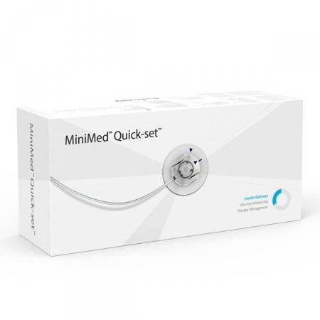 Cateter Quick-Set Medtronic 6mm Cânula 60cm Tubo MMT-399