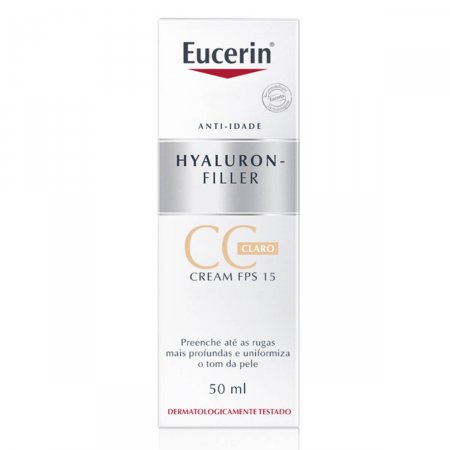 EUCERIN HYALURON FILLER CC CREAM CLARO 50ML