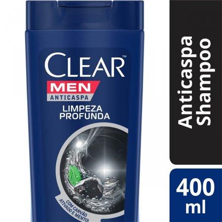 Shampoo Anticaspa Clear Men Limpeza Profunda