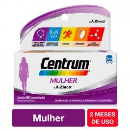 CENTRUM COMPLEXO VITAMINICO 60 COMPRIMIDOS PARA MULHERES