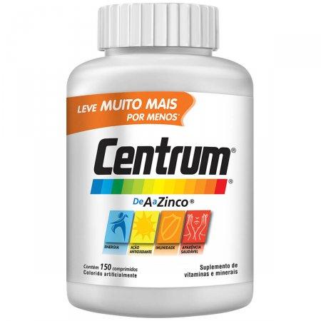 Complexo Vitamínico Centrum de A a Zinco