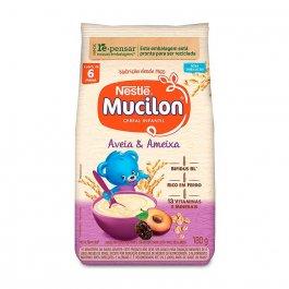 Cereal Infantil Nestlé Mucilon Aveia e Ameixa com 180g