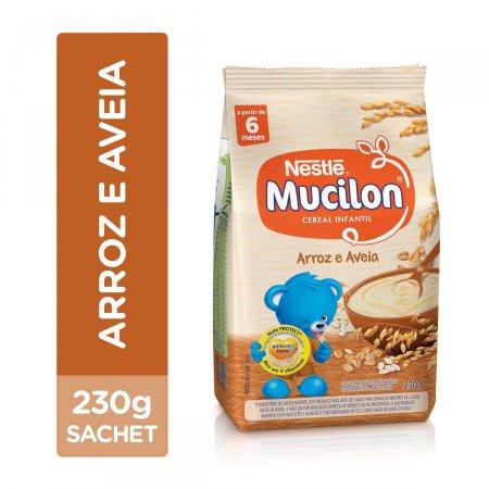 Cereal Infantil Mucilon Arroz e Aveia