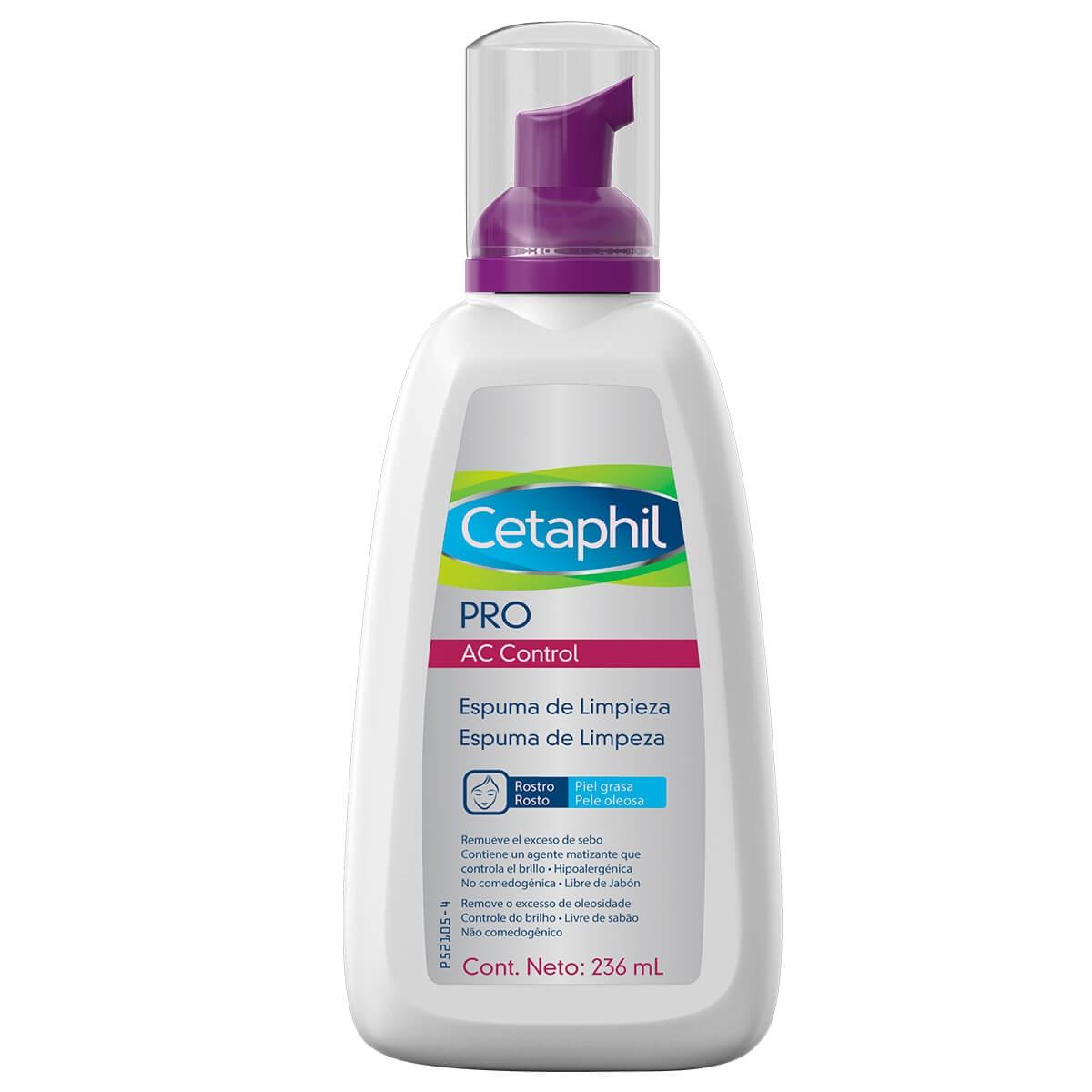 Espuma de Limpeza Facial Cetaphil Pro AC Control Oil Free com 236ml 236ml