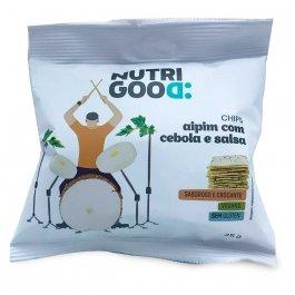 NUTRIGOOD CHIPS ASSADO DE AIPIM COM CEBOLA E SALSA 25G