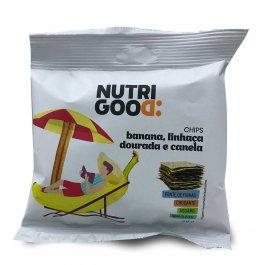 NUTRIGOOD CHIPS ASSADO BANANA COM LINHACA DOURADA E CANELA 25G