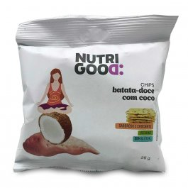 NUTRIGOOD CHIPS ASSADO BATATA DOCE COM COCO 25G