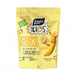 Chips Naturais Linea Kids Sabor Banana