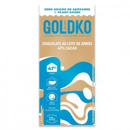 Chocolate ao Leite de Arroz Gold&Ko 47% Cacau