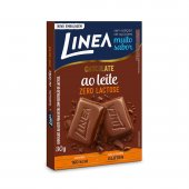 Chocolate Linea ao Leite Zero Lactose Zero Açúcar