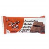 Chocolate Sem Lactose ChocoSoy com Açúcar Orgânico com 20g