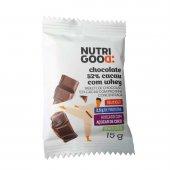 Chocolate 52% Cacau com Whey Nutrigood com 15g