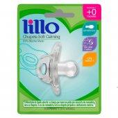 Chupeta de Silicone Lillo Soft Calming Tamanho 1 Transparente