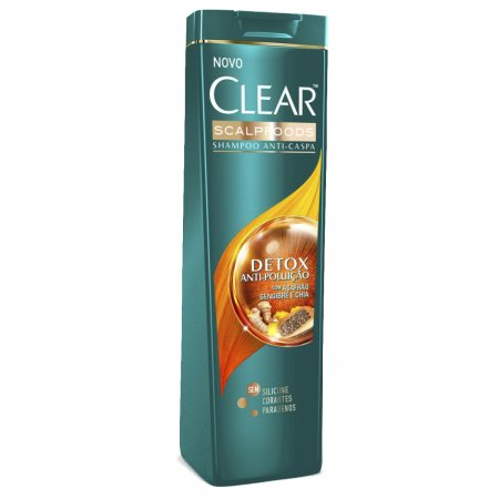 CLEAR WOMEN SHAMPOO ANTI CASPA DETOX 200ML