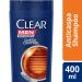 Shampoo Anticaspa Queda Control Clear Men 400ml | Drogasil.com Foto 1
