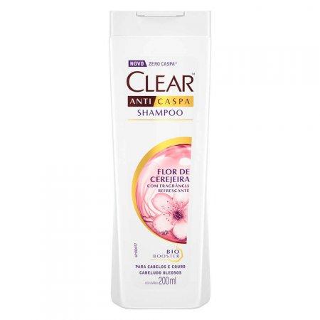 Shampoo Clear Anticaspa Flor de Cerejeira