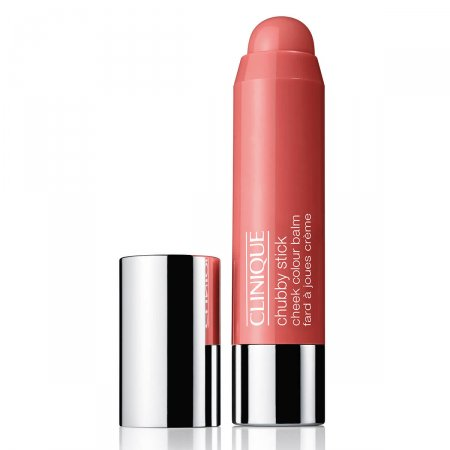Blush Bastão Clinique Chubby Stick Robust Rhubarb