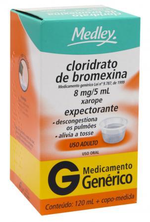 Cloridrato de Bromexina 8mg/5ml