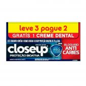 CLOSE UP CREME DENTAL PROTECAO BIOATIVA 70G LEVE 3 PAGUE 2