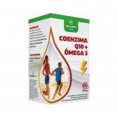 EQULIBRIO VITA COENZIMA Q10 + OMEGA 3 COM 60 CAPSULAS