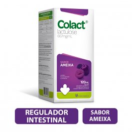 Regulador Intestinal Colact Sabor Ameixa Xarope com 120ml