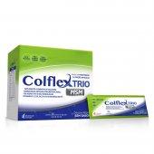 Colflex Trio com MSM Colágeno Hidrolisado em Pó com 30 sachês de 12g cada