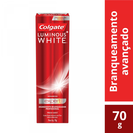 COLGATE CREME DENTAL LUMINOUS WHITE ADVANCED 70G