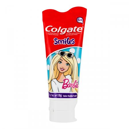 Creme Dental Colgate Smiles Barbie