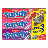 COLGATE KIDS GEL DENTAL TANDY LEVE 3 PAGUE 2 COM 50G CADA