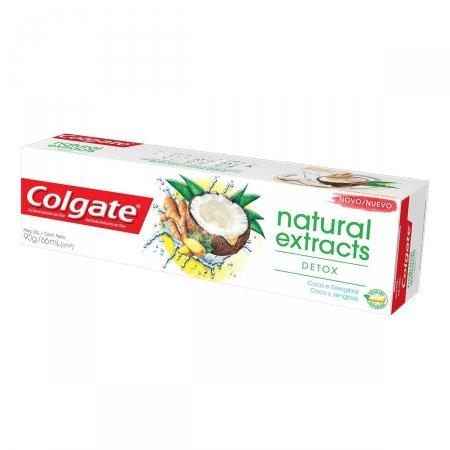 Creme Dental Colgate Natural Extracts Detox