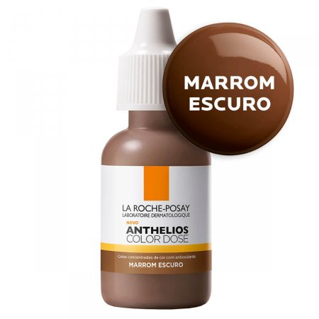 ANTHELIOS COLOR DOSE MARROM ESCURO 17ML