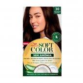 Coloração Soft Color Wella 30 Castanho Escuro com 1 unidade