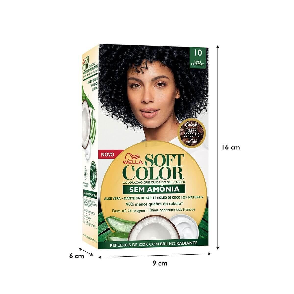 Coloração Soft Color 10 Café Expresso com 1 Unidade 1 Unidade