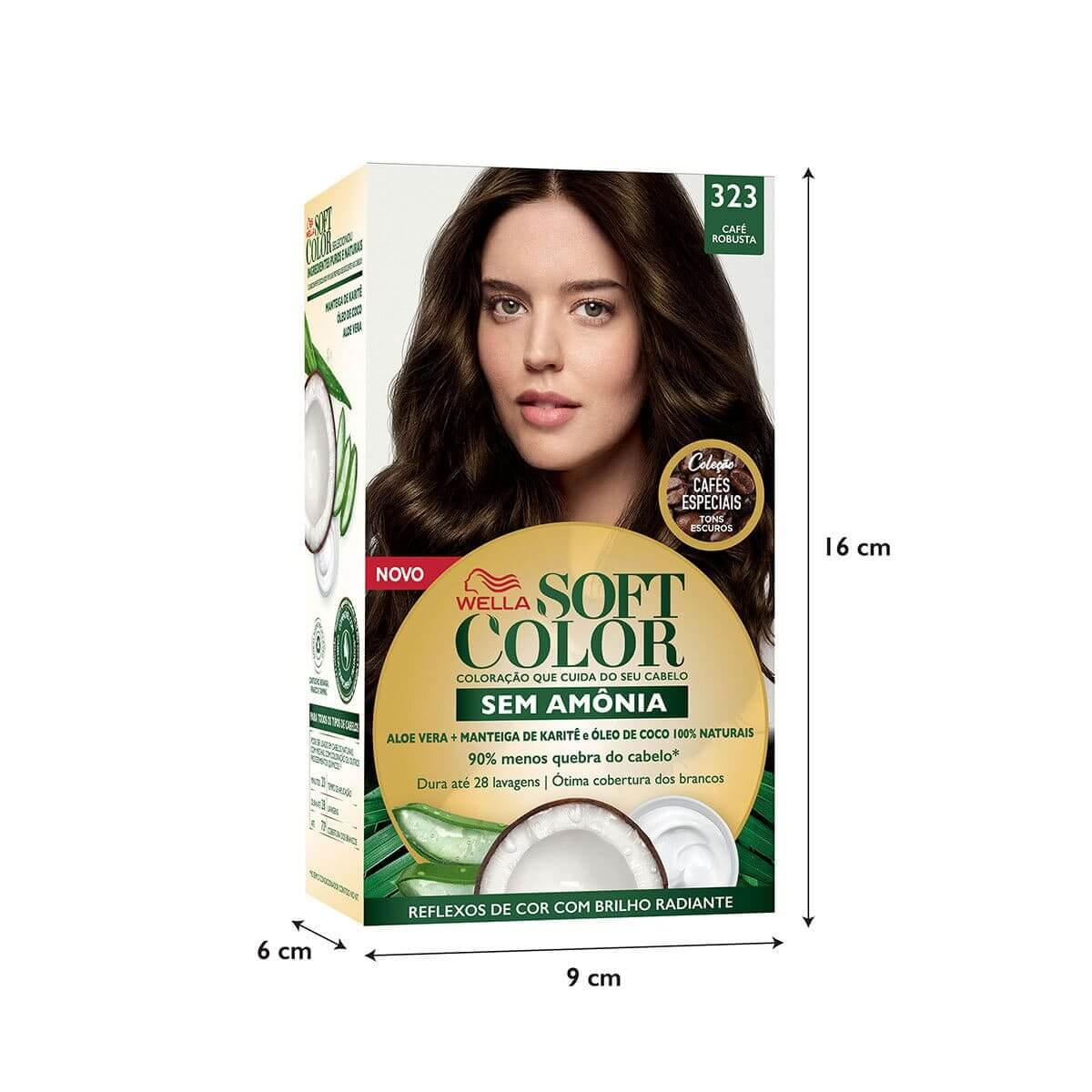 Coloração Soft Color Nº323 Café Robusta 1 Unidade 1 Unidade