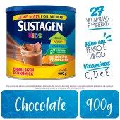 Complemento Alimentar Infantil Sustagen Kids Chocolate com 900g