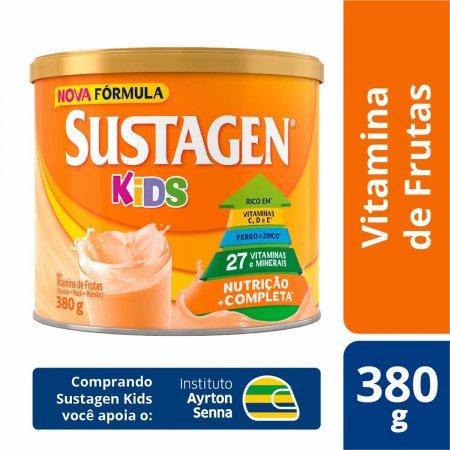 Complemento Alimentar Infantil Sustagen Kids Sabor Vitamina de Frutas