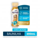 Complemento Alimentar Nestlé Nutren Senior 50+ Sabor Baunlha com 200ml