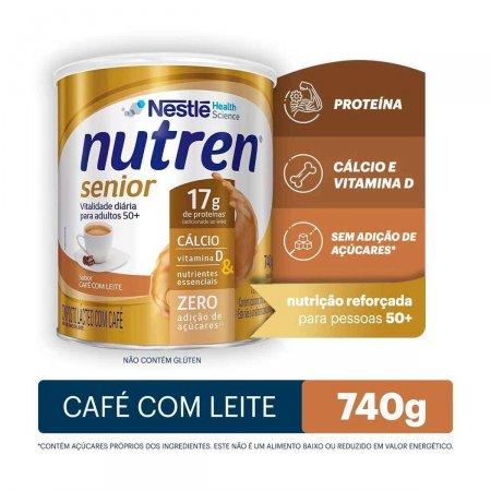 NUTREN SENIOR CEFE COM LEITE LATA 740G