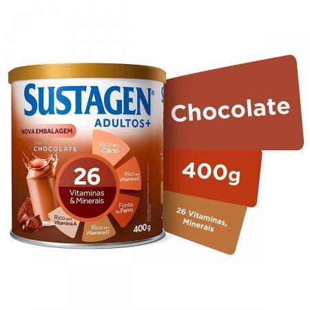 Complemento Alimentar Sustagen Adultos+ Sabor Chocolate