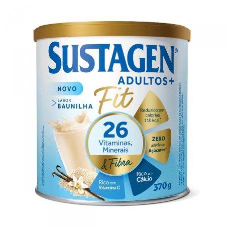 Complemento Alimentar Sustagen Adultos + Fit Sabor Baunilha