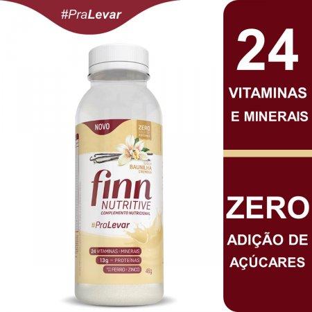 FINN NUTRITIVE GARRAFA BAUNILHA 46G