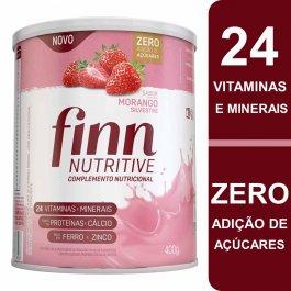 Complemento Nutricional Finn Nutritive Sabor Morango Silvestre com 400g