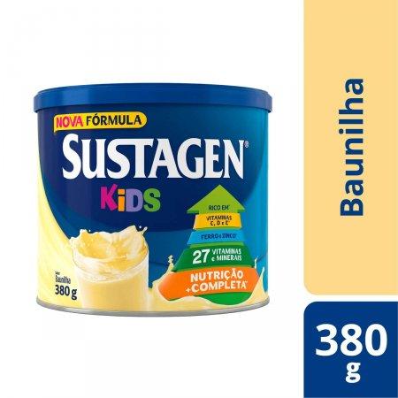 SUSTAGEN KIDS SUPLEMENTO ALIMENTAR BAUNILHA 380 G