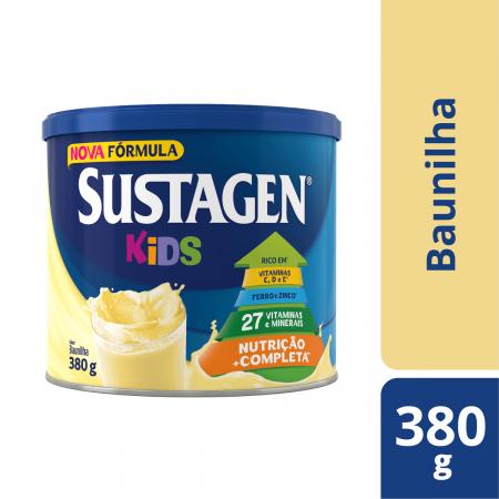 Complemento Alimentar Infantil Sustagen Kids Baunilha
