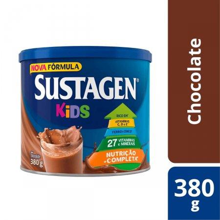 SUSTAGEN KIDS SUPLEMENTO ALIMENTAR CHOCOLATE 380 G