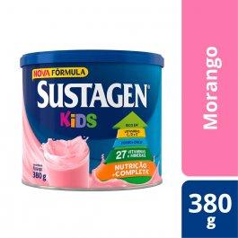 Complemento Alimentar Infantil Sustagen Kids Sabor Morango com 380g