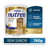 Complemento Alimentar Nutren Senior Sem Sabor 740g